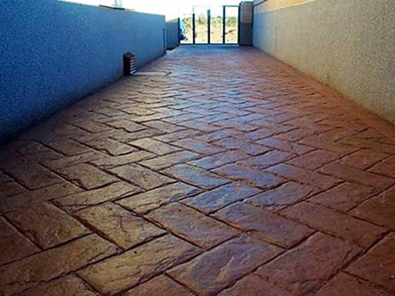 Pavimenti In Cotto A Spina Di Pesce : Elegante pavimento spina di pesce cotto pavimenti spaces