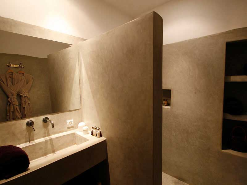 Bagno Moderno In Resina Cementizia Pictures to pin on Pinterest