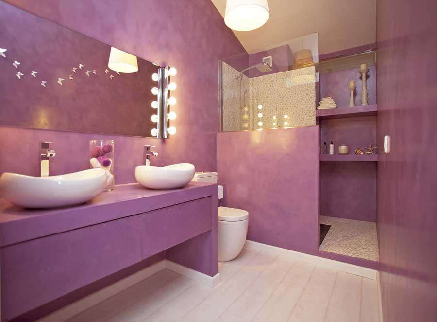 Pavimento in microcemento spatolato immagini - Pavimento bagno moderno ...