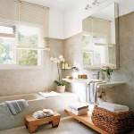microcemento chiaro per bagno
