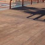 finto legno in cemento