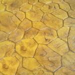 effetto porfido cemento stampato