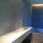 microcemento per lavabo e bagno