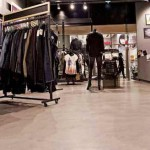 microcemento pavimento negozio