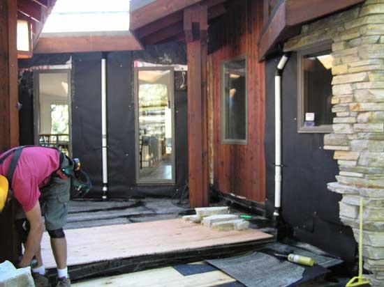 pavimenti in resina satinata salotto - Pavimento Moderno