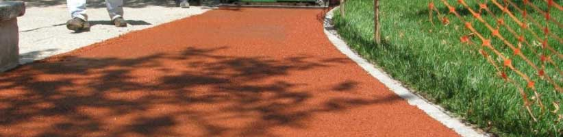pavimento in gomma antitrauma esterno