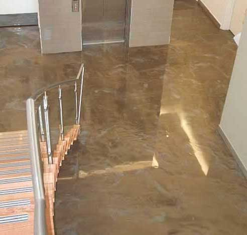 Foto pavimenti in resina pavimento moderno - Pavimenti bagno prezzi ...