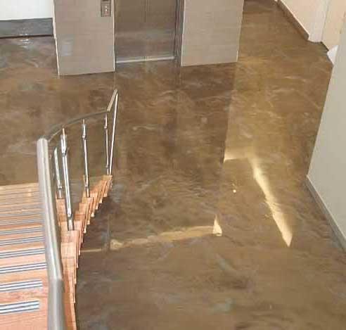 Foto pavimenti in resina infinity indoor pavimento moderno - Pavimenti in resina bagno ...