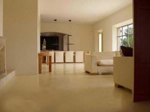 pavimento in microcemento per pavimenti chiari