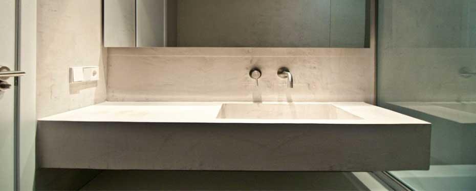 Bagno Moderno Resina: Pavimenti in resina pavimento con ...