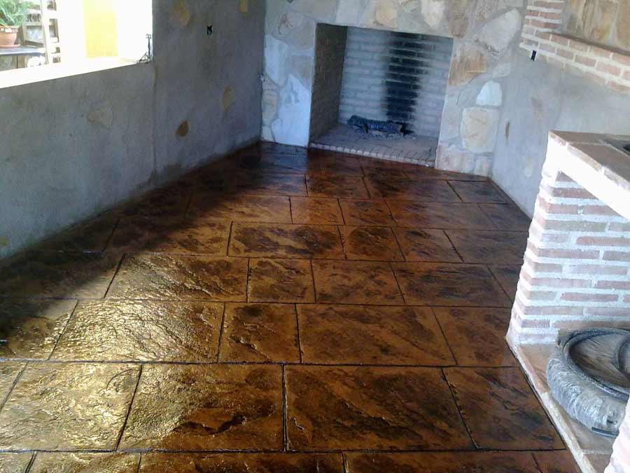 abbastanza pavimento-basso-spessore-cemento-stampato-esterno-e-per-interni  BZ69