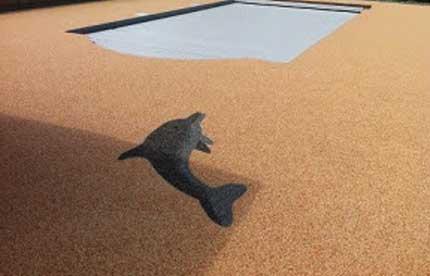 Pavimento in sughero naturale per esterni ecologico