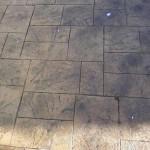 cemento stampato effetto ardesia finta