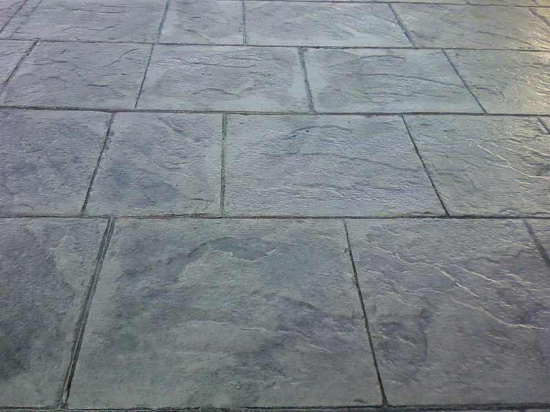 Pavimenti per esterni cemento stampato p cool pavimento cemento