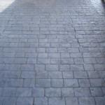 effetto pietra pavimento in cemento