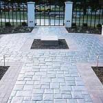 pavimento in pietra ricostruita