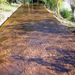 cemento stampato per pavimento