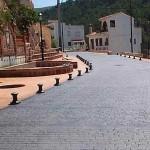 pavimento in cemento stampato villaggio