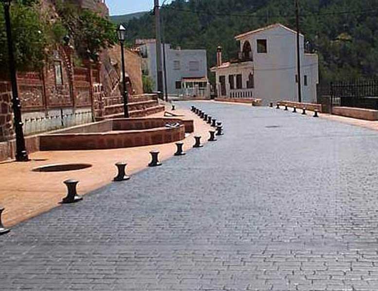 Pavimento Esterno Cemento : Pavimento cemento stampato esterno villaggio turistico piazza