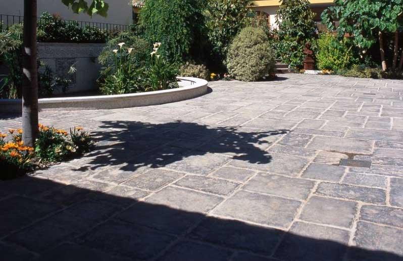 Calcestruzzo Stampato Palermo : Foto cemento stampato pavimento moderno