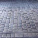 esterno in cemento stampato