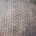 cemento stampato esterno
