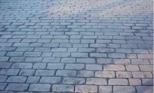 Pavimenti in cemento finta pietra pavimento per esterni in