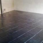 cemento stampato per interni