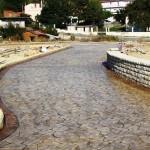 cemento stampato carrabile