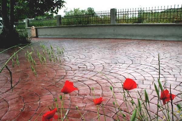 Pavimento Calcestruzzo Stampato : Cemento stampato in calabria pavimento moderno