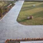 giardino sentieri in cemento stampato