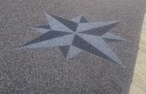 pavimento drenante con granulati di marmo
