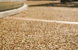 pavimento dranante con granulati di marmo