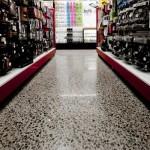 pavimento in cemento resistente