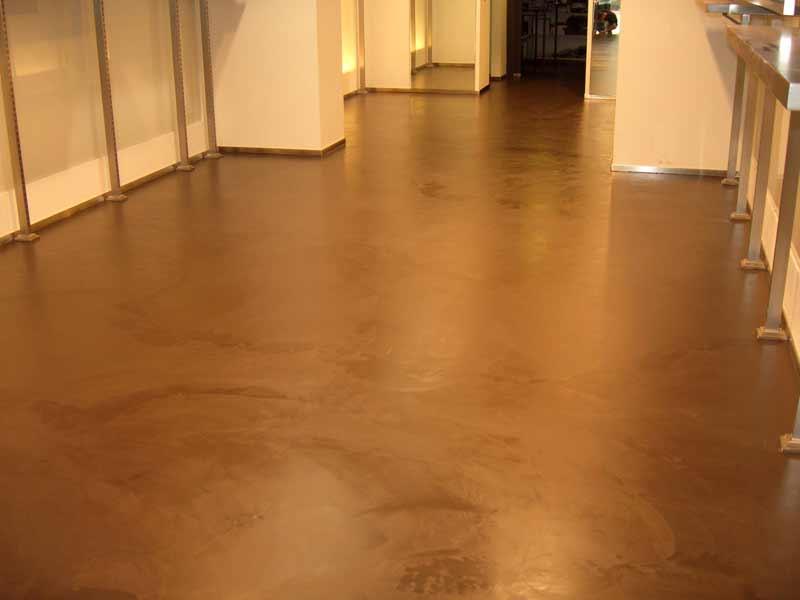 Foto pavimenti in resina pavimento moderno - Pavimenti in resina bagno ...