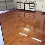 pavimenti in resina arancione