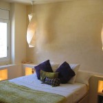 microcemento per pareti camera da letto