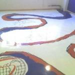 pavimenti in resina per negozio decorato