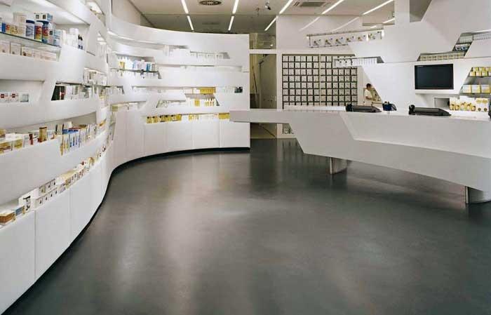 Pavimento Bianco Lucido Prezzo : Pavimenti in microcemento con cemento moderno pavimento moderno