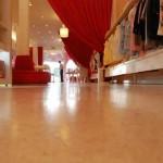 pavimento acidificato senza fughe