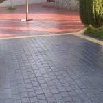 cemento stampato piazzale