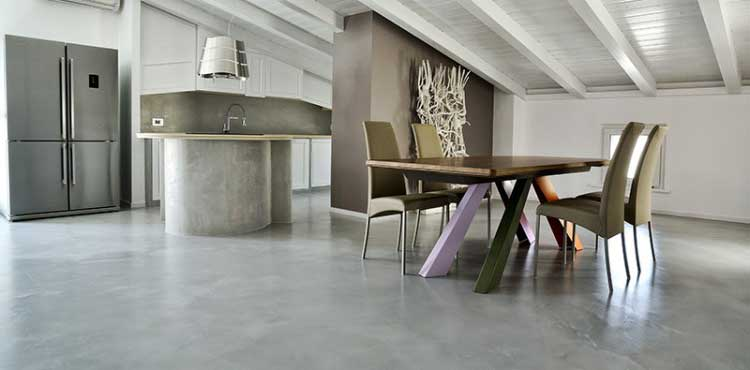 Pavimenti In Micro Cemento Moderno Pavimento Moderno