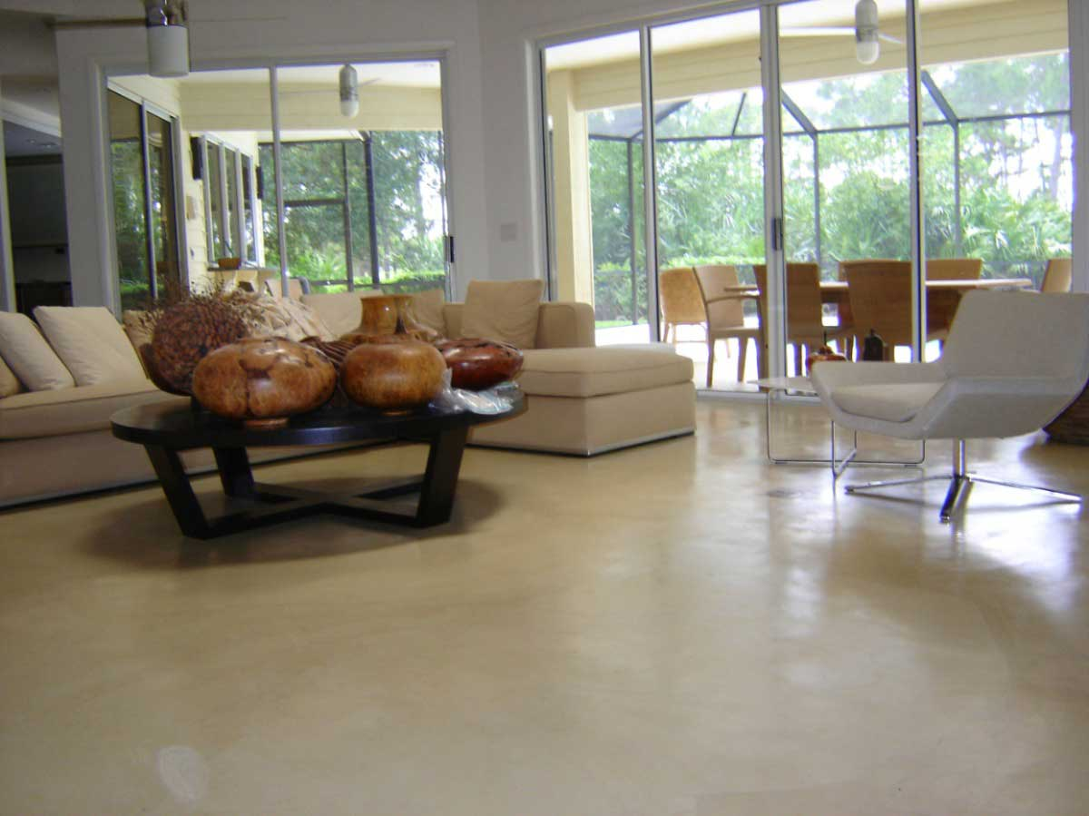 Foto pavimento acidificato pavimento moderno - Pavimento in resina per esterno ...