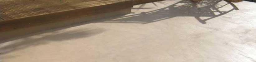 Pavimento spatolato per esterno - Pavimento Moderno