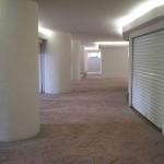 cemento stampato pavimento centro commerciale