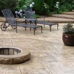 Cemento stampato per pavimentare l'esterno