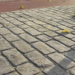 cemento stampato antichizzato