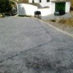 finto porfido in cemento grigio