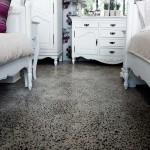 pavimento stile vintage calcestruzzo levigato