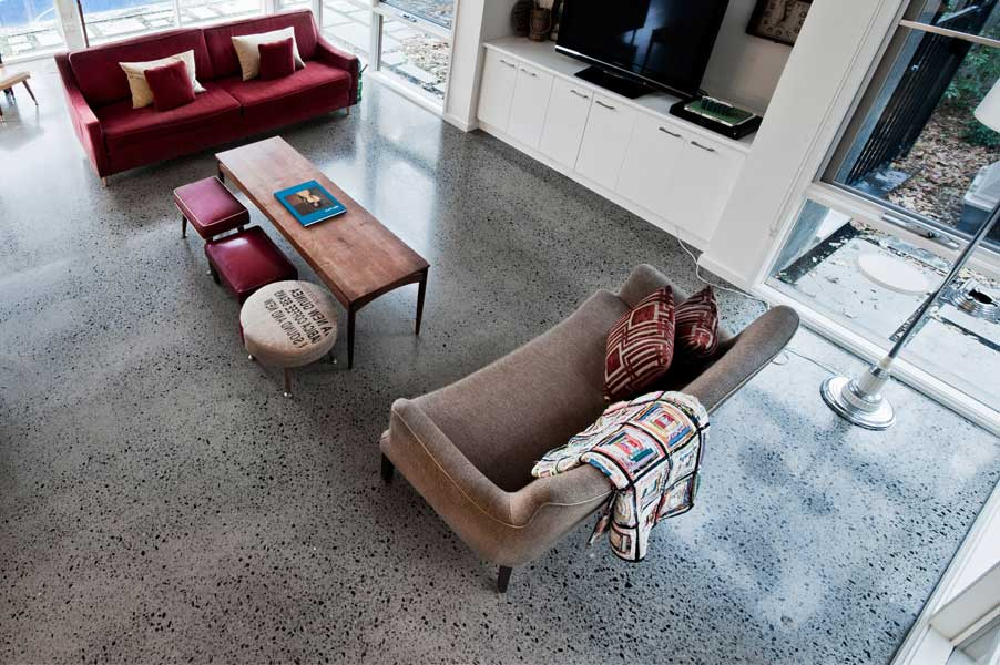Pavimento graniglia arredamento moderno